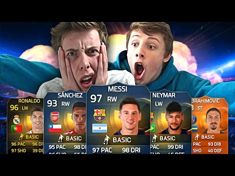 EPIC 10 MILLION SEARCH AND DISCARD vs CALFREEZY - FIFA 15