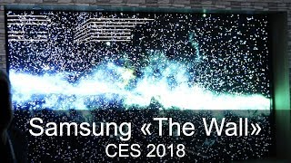Samsung The Wall 146 Zoll MicroLED 4K TV - CES 2018 - Thomas Electronic Online Shop