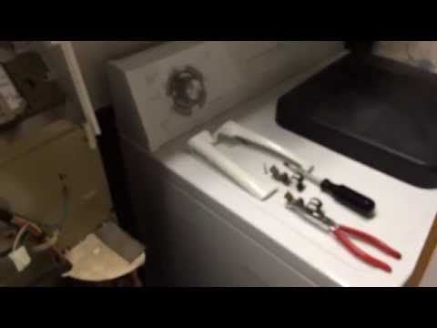 Whirlpool/Kenmore washer shakes/wobbles - Fix Counter balance spring (EASY FIX PART 1)