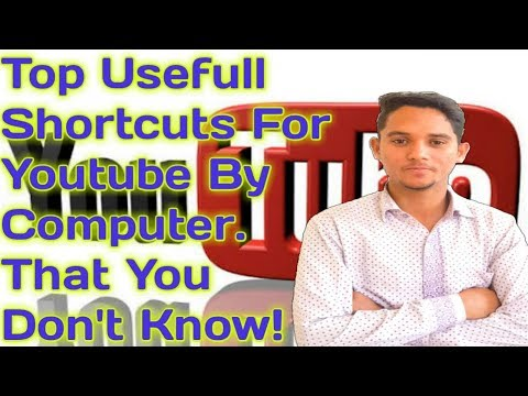 Top Usefull Shortcuts For Youtube By Computer. That You Don't Know!