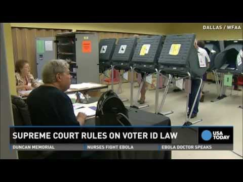 Supreme Court OKs controversial Texas voter ID law
