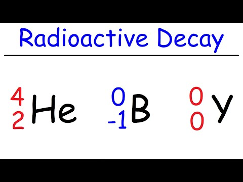 Alpha Decay, Beta Decay, Gamma Decay, Electron Capture, Positron Production   Nuclear Chemistry