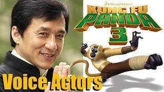 """Kung Fu Panda 3"" (2016) Voice Actors and Characters"