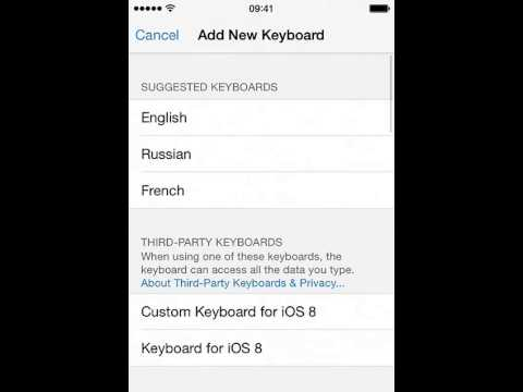 Custom Keyboard for iOS 8 - Design your keyboards with customized fonts, colors and backgrounds