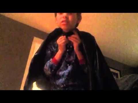 My homemade batman cape review