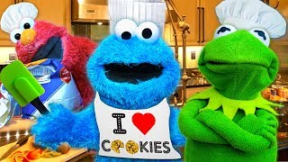 Download Cooking with Cookie Monster! Kermit the Frog and Cookie Monster's Cooking Show Video