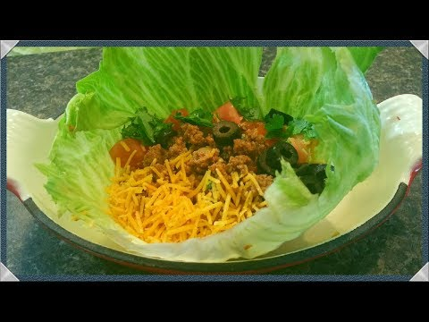 Low Carb Turkey Taco Recipe/How To Make Turkey Tacos