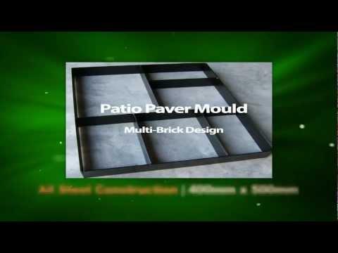 Garden Patio Paver Maker Mould Mold - Imprinted Concrete Tool