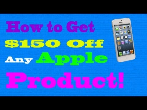 How to Get $150 Off Any Apple Product! (insane discount)