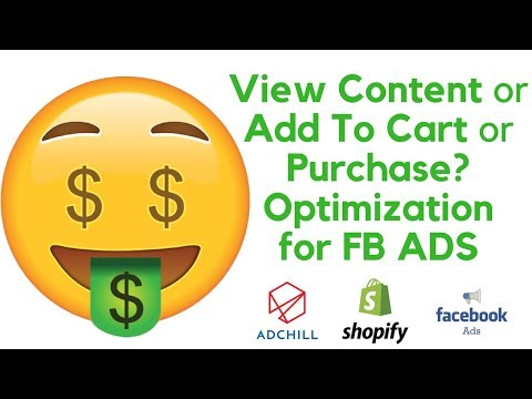 Facebook Ad Optimization 2019 [View Content, Add To Cart, or Purchase?]