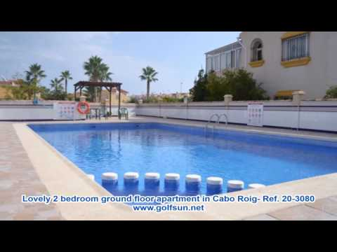 Ref: 20-3080 -  Lovely 2 bedroom ground floor apartment in Cabo Roig