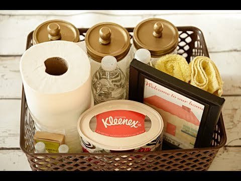 Guest Welcome Basket