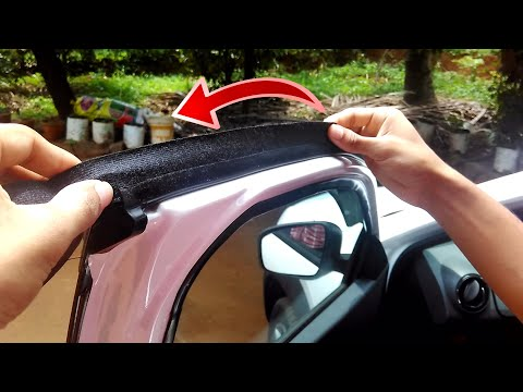 Fix Door Rattling and Make your Car's cabin Silent like New One - DIY - Renault Kwid