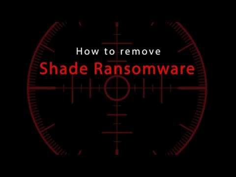 How to remove Shade Ransomware