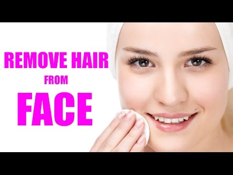 Home Remedies To Remove Unwanted Hair Permanently, How To Remove Facial Hair INSTANTLY, beauty tips