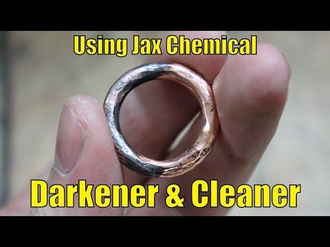 Darkener and Tarnish cleaner with Jax Chemical