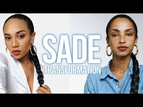 Sade Transformation | Hair + Makeup ft. Faux Freckles