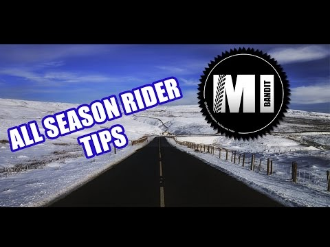 Winter Motorbike Riding and  Cold UK Gear Tips