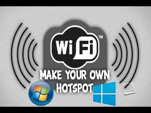 How to turn your Windows 7/8/10 Laptop into a WiFi Hotspot