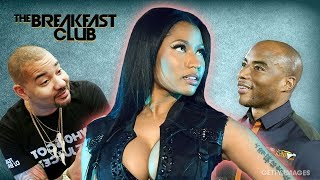 DJ Envy And Charlamagne Fight Over Who Loves Nicki Minaj More, Barbz Come For Envy