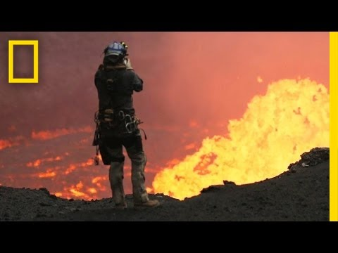 Drones Sacrificed for Spectacular Volcano Video   National Geographic