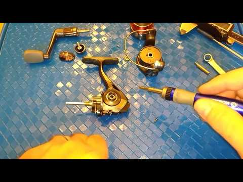 Quantum Optix 10 Spinning Reel Upgraded To 5+1 Bearings