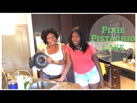 Pixie Pistachio Cake Recipe