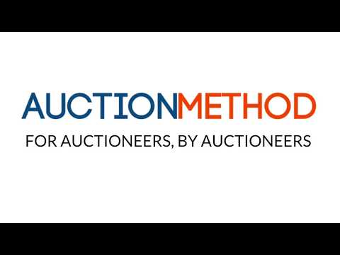 Online auction software from AuctionMethod