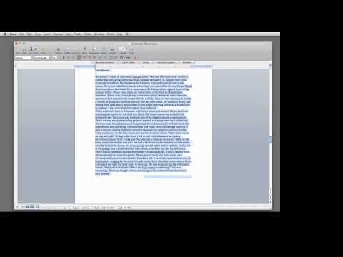 Formatting Your Thesis or Dissertation in MS Word for Mac.mp4