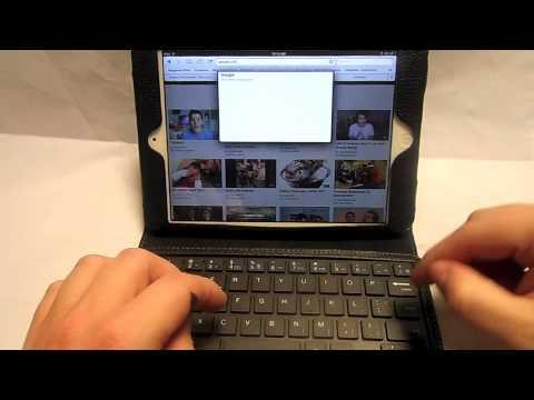 The new Apple iPad mini Bluetooth keyboard case review