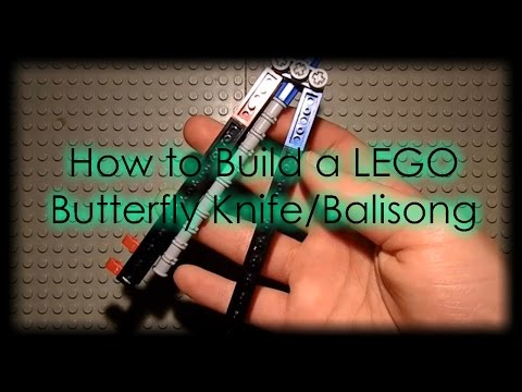 How to make || LEGO Butterfly/Balisong Knife