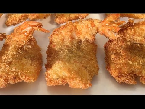 How To Make Coconut Shrimp-Prawns With Panko-Fried Asian Food Recipes