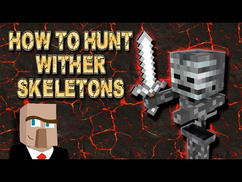 GET MORE WITHER SKELETON SKULLS: Our Best Minecraft Strategies