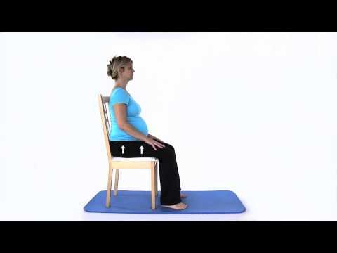 Pregnancy Exercises - Pelvic Floor Slow Contractions