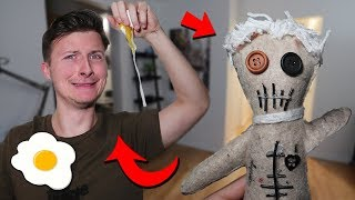 PRANKING BEST FRIEND WITH HIS OWN VOODOO DOLL AT 3 AM!! (YOU WON