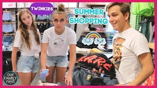 SUMMER SHOPPING DAY! WHAT DO THEY POSSIBLY NEED NOW?!