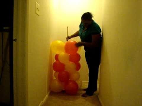 Make your own Balloon Column