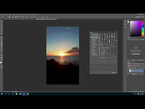 Adobe Photoshop: Element Stars with Brush