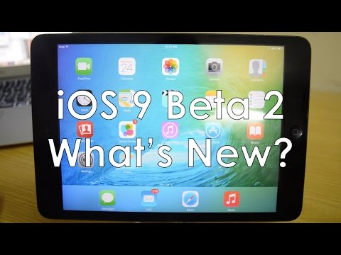 iOS 9 Beta 2: What's New?
