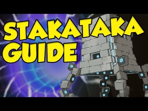 How To Use STAKATAKA - THE BEST TRICK ROOM POKEMON!