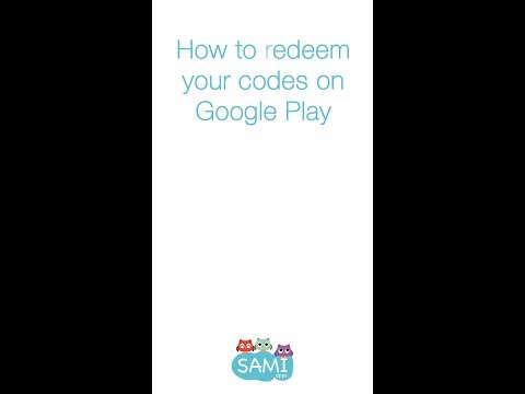 How to redeem promo codes in Android? video tutorial