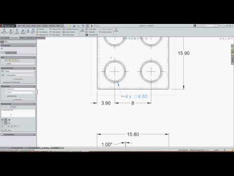 Editing Dimension Text in SolidWorks