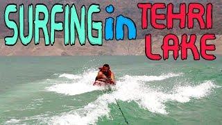 SURFING GONE WRONG IN TEHRI LAKE ??? UTTARAKHAND