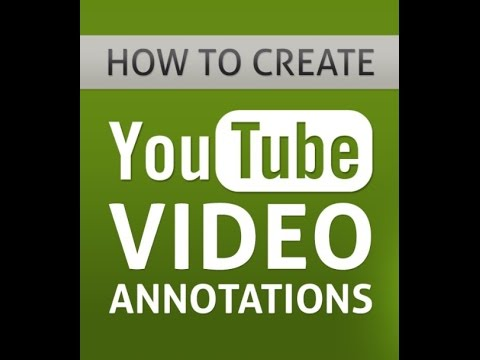 MCA - Youtube Annotations Training - 2017