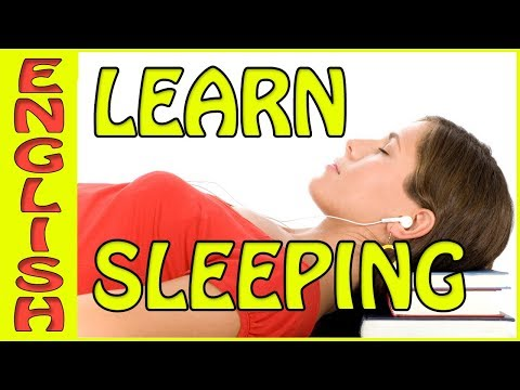 Learn English Sleeping - It's true, this video can increase your vocabulary. تعلم الإنجليزية النوم