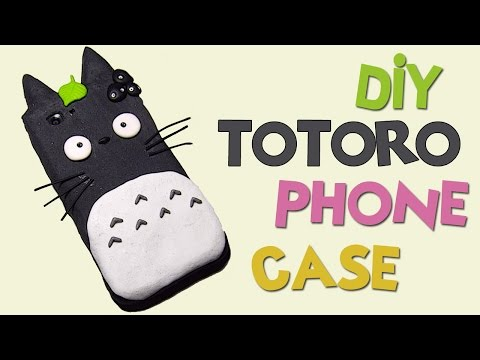 DIY | Totoro Phone Case Tutorial - Polymer Clay How-to