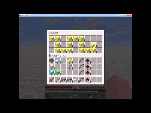 Using the Minecraft Inventory and Crafting Grid