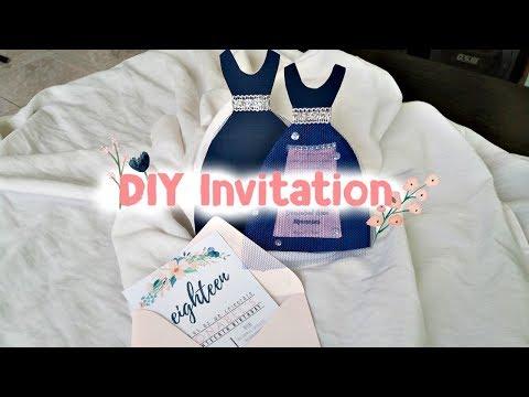 DIY INVITATION││Debut Edition