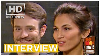 Daredevil - Charlie Cox & Elodie Young | exclusive interview (2016)