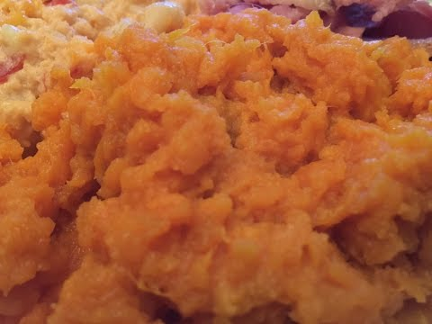 Mashed Sweet Potatoes (Yummy Side Dish)